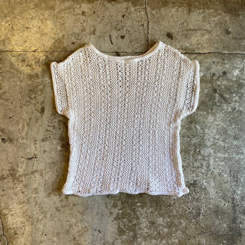 画像1: COTTON MESH FRENCH SLEEVE TOPS / Ladies M (1)