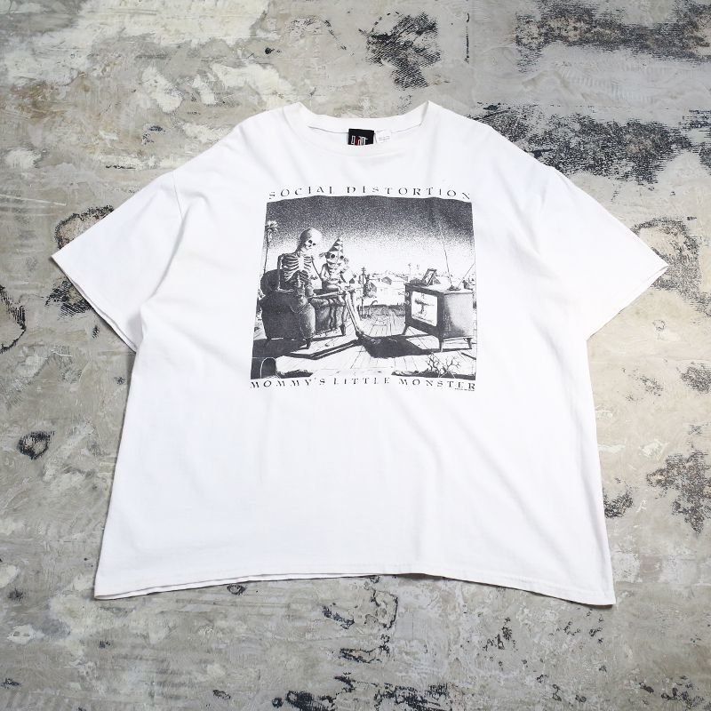 "画像1: ""SOCIAL DISTORTION"" GRAPHIC ROCK S/S TEE / Mens XL (1)"