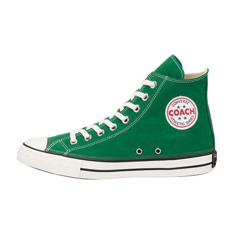 画像1: 【CONVERSE ADDICT】- COACH CANVAS HI / GREEN (1)