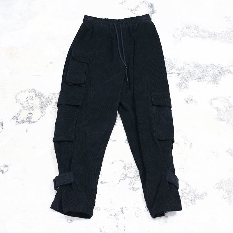 画像1: 【WONDERGROUND】DESTROY PANTS / BLACK (1)
