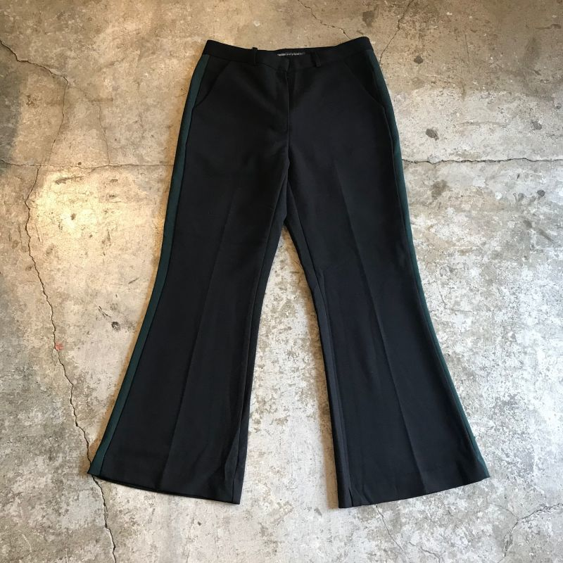 画像1: SIDE LINE DESIGN FLARE PANTS / W29 (1)
