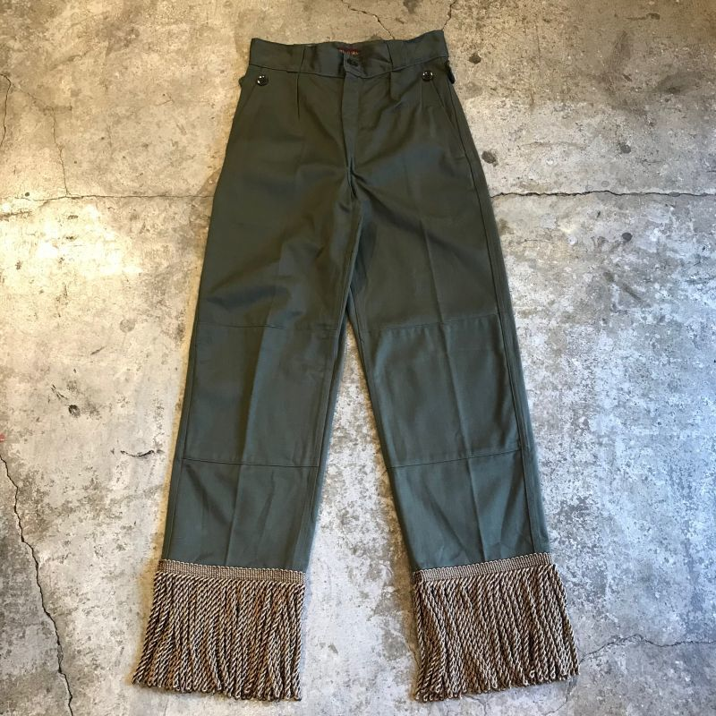 "画像1: 【Wiz&Witch】 ""UNITED"" VINTAGE FRINGE MILITARY PANTS / W26 (1)"