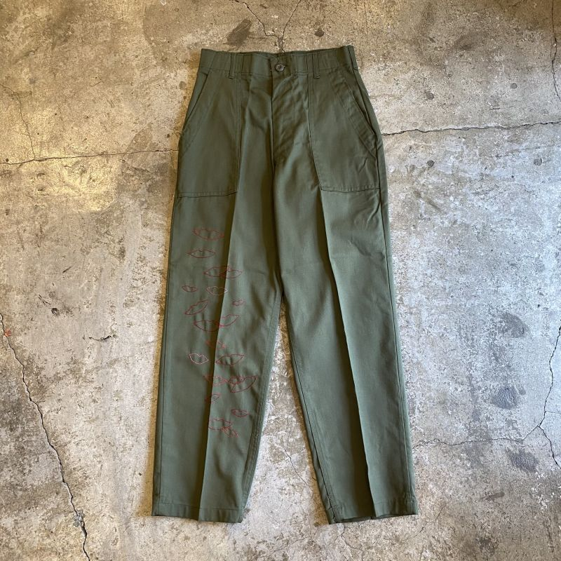 "画像1: 【Wiz&Witch】""MOCO"" MILITARY PANTS / W28 (1)"