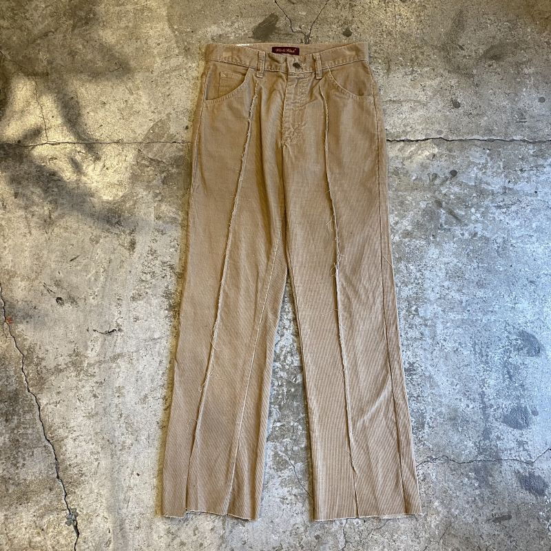 画像1: 【Wiz&Witch】FLARE CUT CORDUROY PANTS / W28 (1)