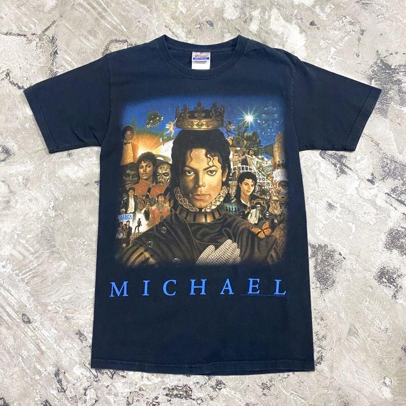 """画像1: """"MICHAEL JACKSON"""" PRINTED TEE / Mens S (1)"""