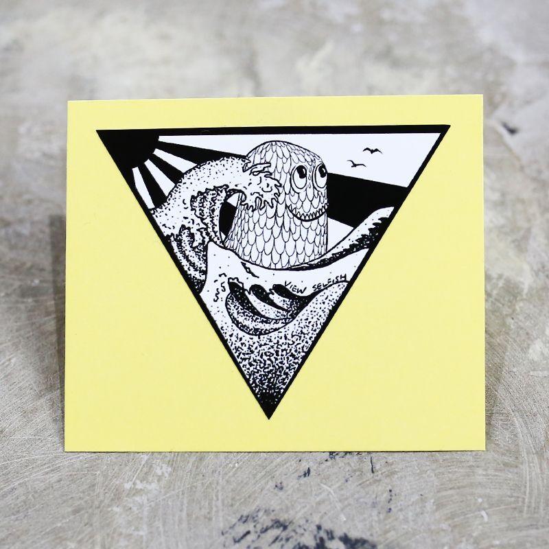 画像1: 【VIEW】SELFISH MONSTER STICKER (1)