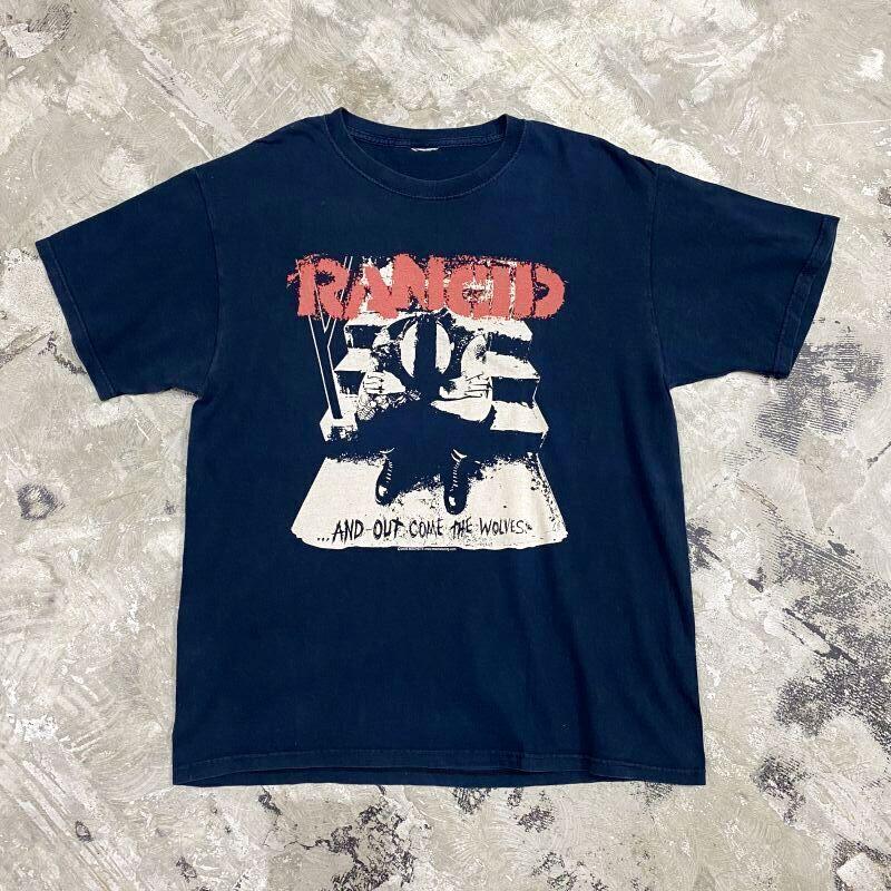 """画像1: """"RANCID"""" PRINTED ROCK S/S TEE / Mens L (1)"""