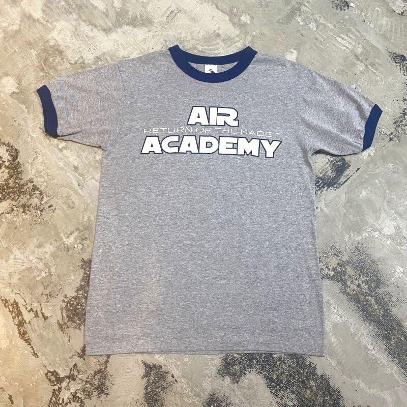 """画像1: """"AIR ACADEMY"""" PRINTED RINGER TEE / Mens M (1)"""