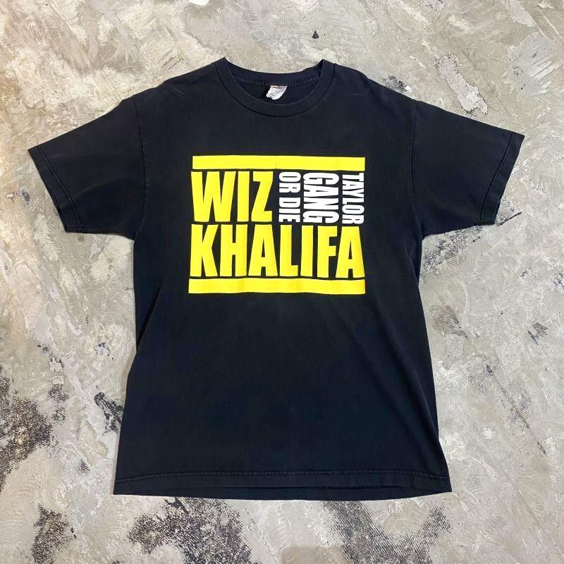 """画像1: """"WIZ KHALIFA"""" NAME LOGO PRINTED S/S TEE / Mens L (1)"""